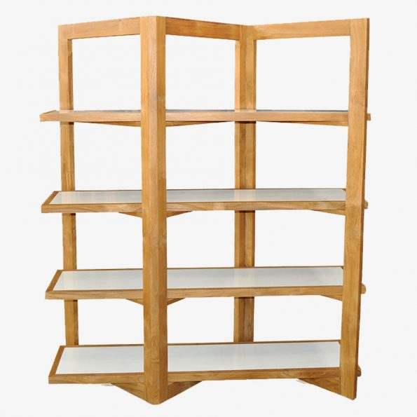 Book Rack W Teckococo Wooden Furniture