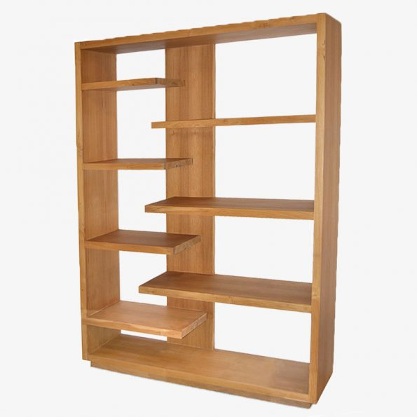 Book Rack Rima Teckococo Wooden Furniture