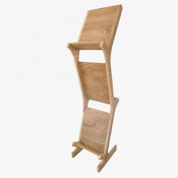 Book Rack Pohon Teckococo Wooden Furniture