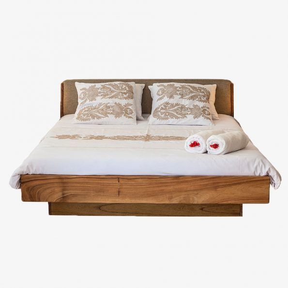 Bed Alma Teckococo Wooden Furniture