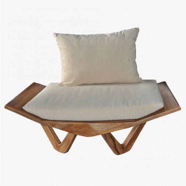 Sofa Kupu-Kupu Single Teckococo Wooden Furniture