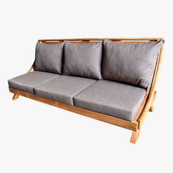 Arc Sofa Teckococo Wooden Furniture