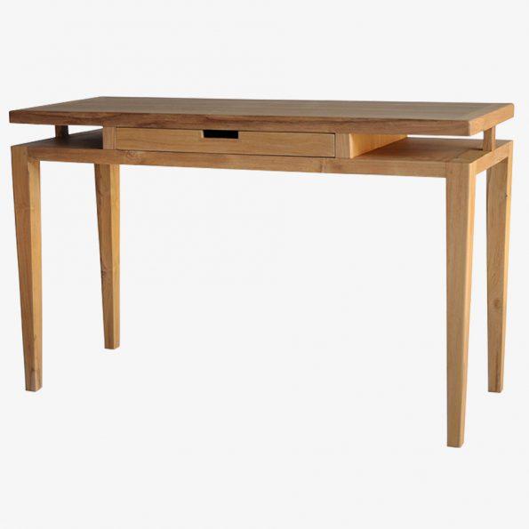 Desk Rattan Teckococo Wooden Furniture
