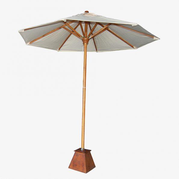 Umbrella Umbrella Teckococo Wooden Furniture