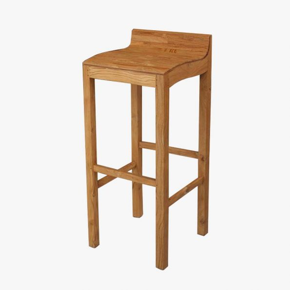 Rosa Barstool  Cubicle Teckococo Wooden Furniture