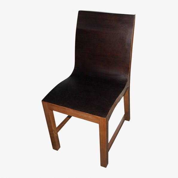 Rosa Chair Tea Brown Teckococo Wooden Furniture