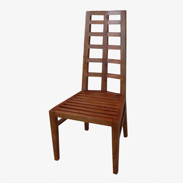 Yelmo High Chair Teckococo Wooden Furniture