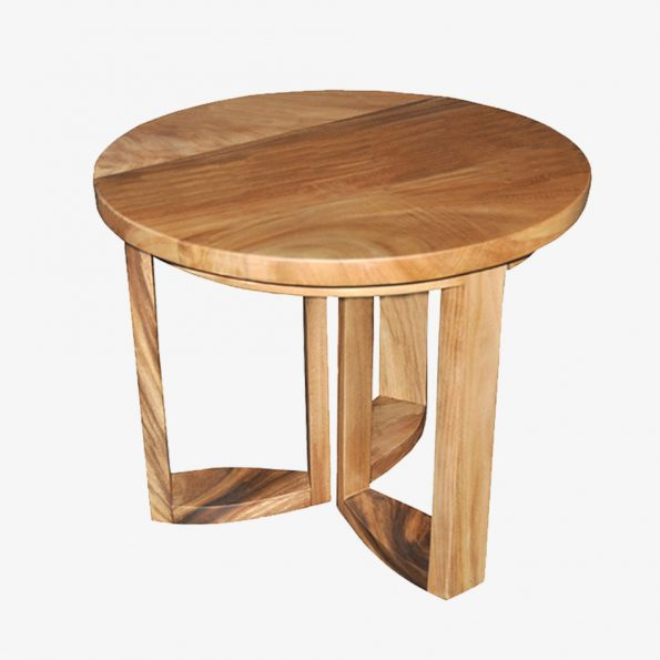 Side table Flower Teckococo Wooden Furniture