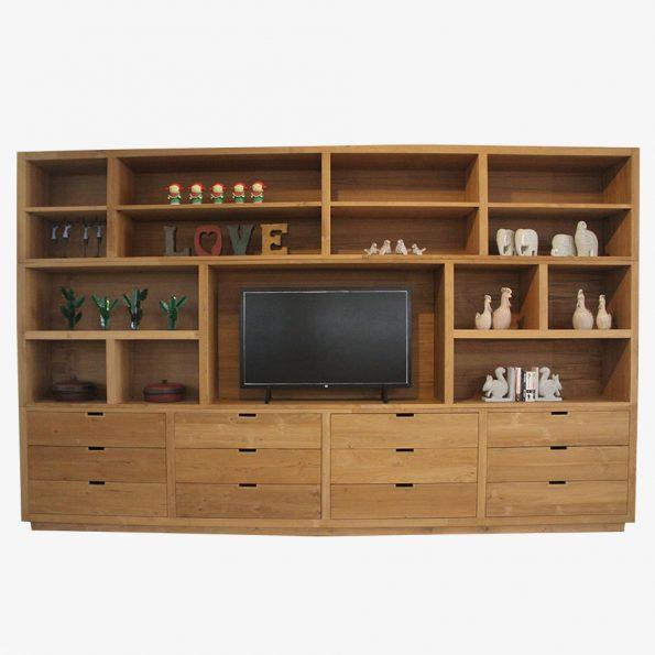 TV Furniture Kediri  Chest TV Plasma Teckococo Wooden Furniture