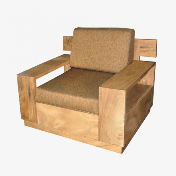 Sofa Warna Warni Single Teckococo Wooden Furniture