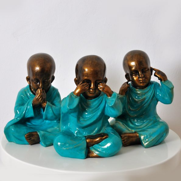Resin Sculpture Resin Budha Mong Teckococo Wooden Furniture