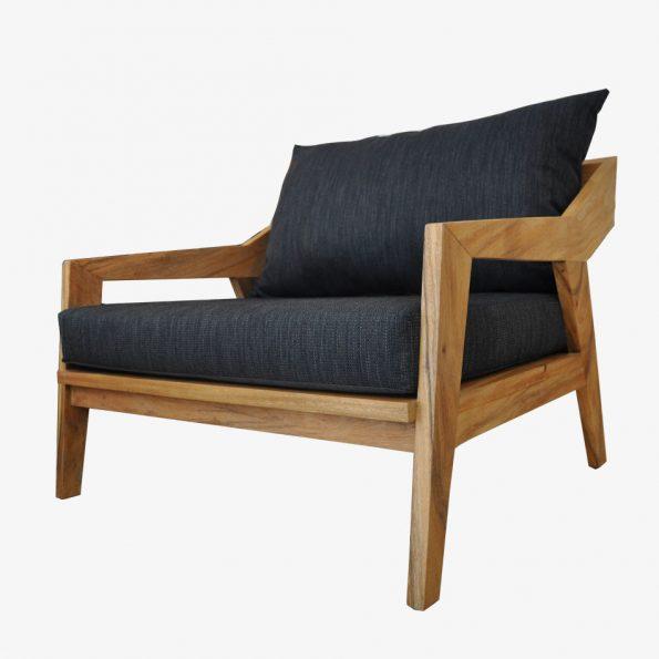 Sofa Nusa Single Teckococo Wooden Furniture