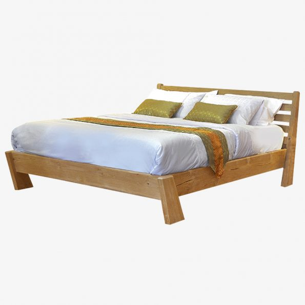Bed Mano Teckococo Wooden Furniture