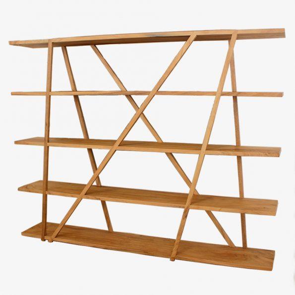 Book Rack Manggarai Teckococo Wooden Furniture