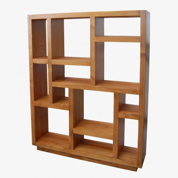 Book Rack Shoka M Teckococo Wooden Furniture