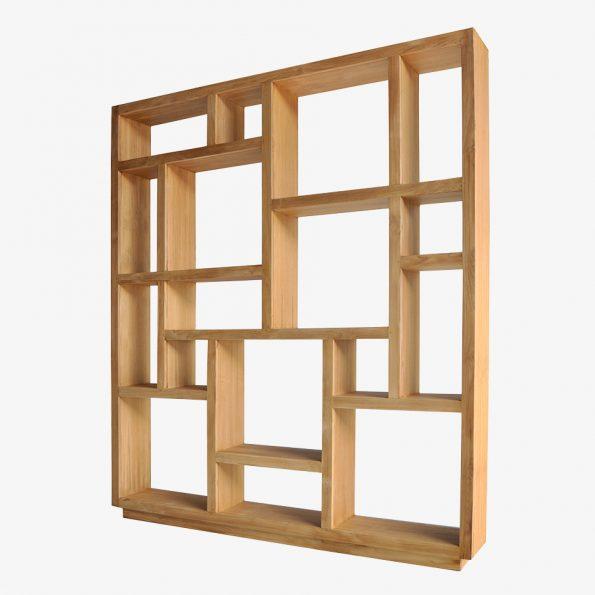 Book Rack Shoka XL Teckococo Wooden Furniture