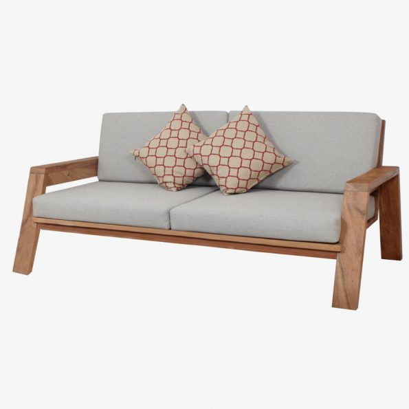 Sofa Africa 2 Seater Teckococo Wooden Furniture