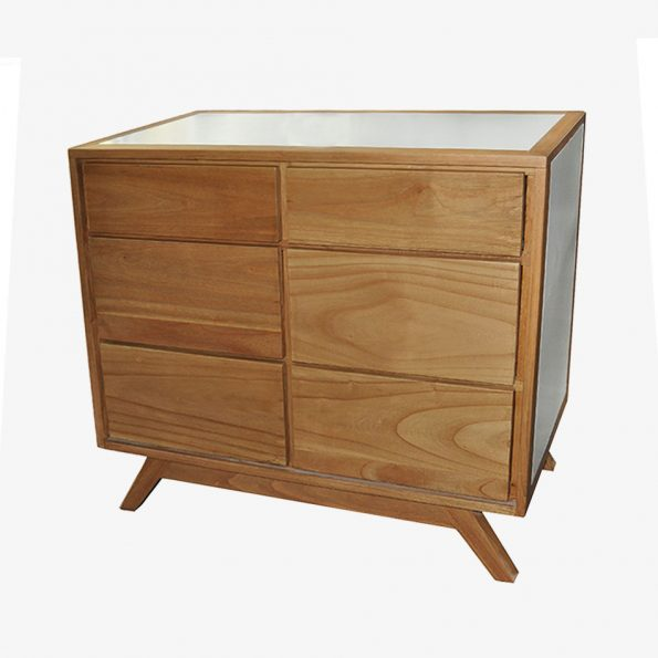 Chest Alor 6 Drawers Teckococo Wooden Furniture