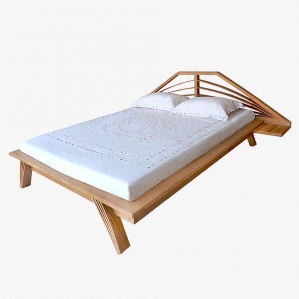 Bed Jari Teckococo Wooden Furniture