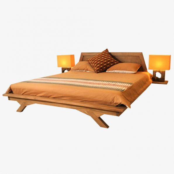 Bed Abak Teckococo Wooden Furniture