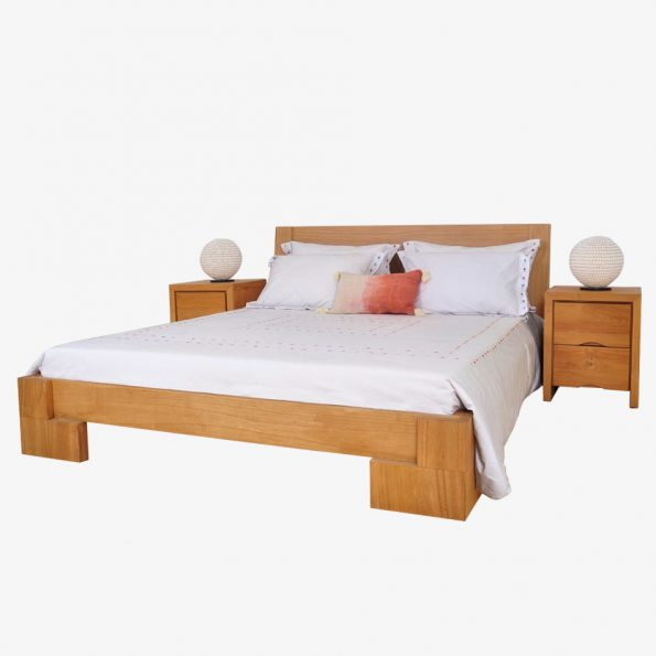 Bed Samarinda Teckococo Wooden Furniture