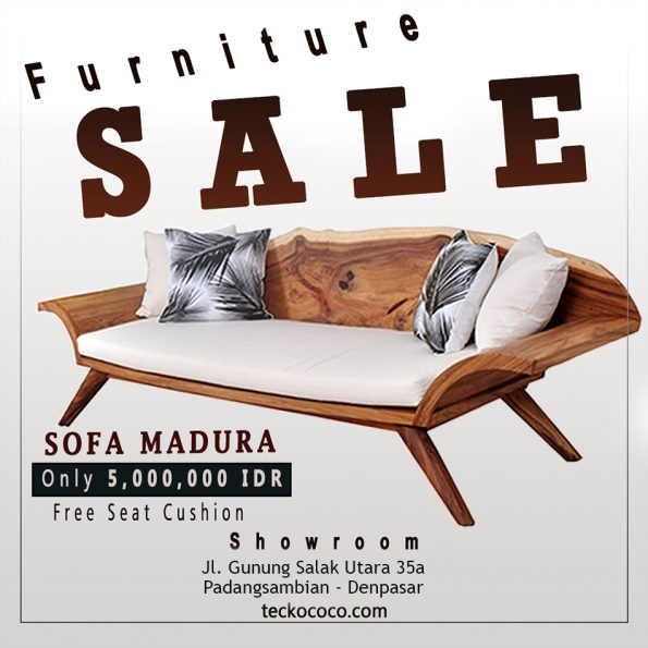 Sofa Madura Teckococo Wooden Furniture